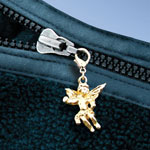 Jewelry & Accessories - Guardian Angel Zipper Pull
