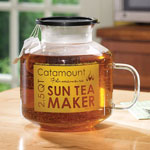 Small Appliances & Accessories - Catamount Glass Microwave Sun Tea Maker