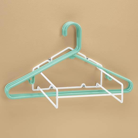 hanger storage rack hanger stacker walter drake. Black Bedroom Furniture Sets. Home Design Ideas