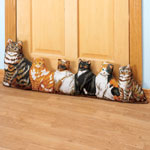 Energy Savers - Cat Door Draft Blocker