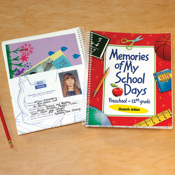 School Days Memory Book - View 1