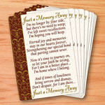 Labels & Stationery - Memorial Wallet Cards - Set Of 25