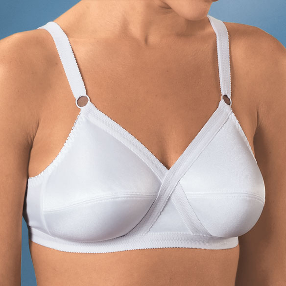 Cross And Shape Support Bras - Set Of 2