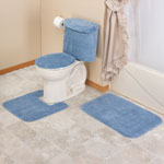 Bath Accessories - 5 Piece Bath Set