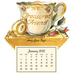 Flash Sale - Treasured Friend Mini Magnetic Calendar