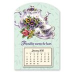 Calendars - Mini Magnetic Teapot Calendar