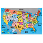 Toys & Games - USA Magnetic Puzzle Map
