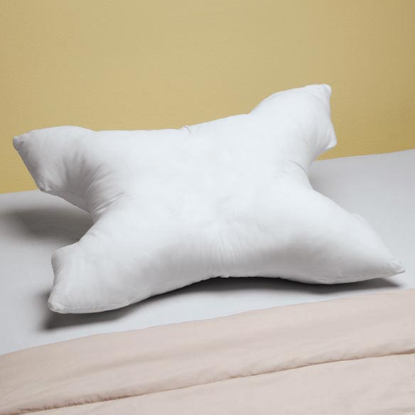Pillow And Case For Sleep Apnea - View 1