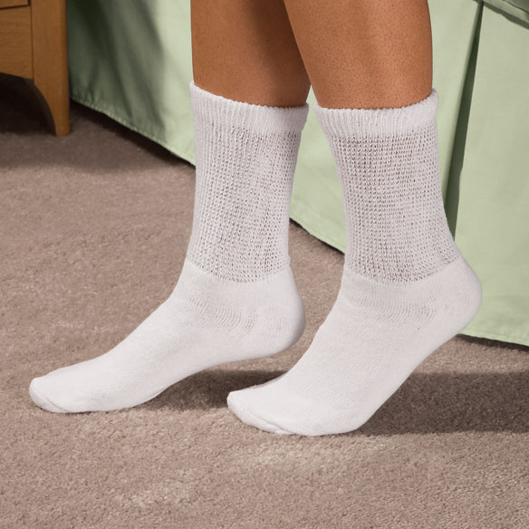 Comfy Feet™ Diabetic Socks - View 1