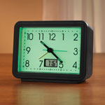 Bedroom Basics - Glow In The Dark Alarm Clock