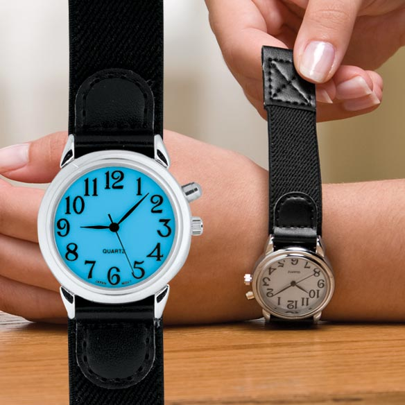 Lite Up Self Fastening Watch