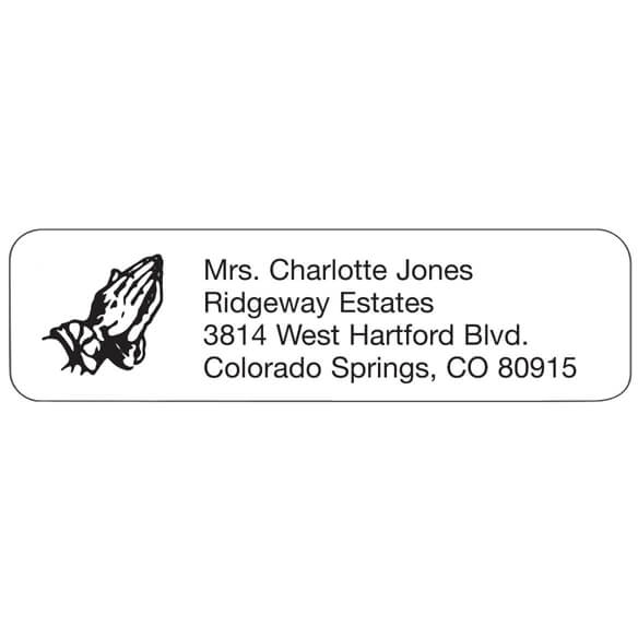Prayer Personalized Address Labels