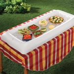 Outdoor Entertaining - Inflatable Serving Bar
