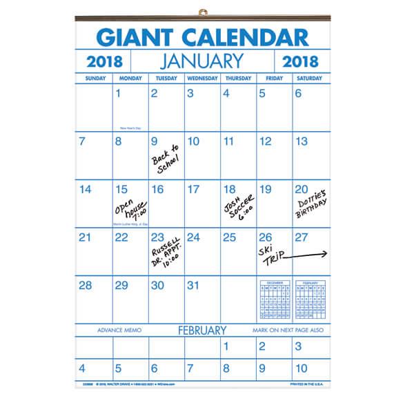 Year Calendar Buy : Year large calendar
