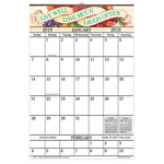 Labels & Stationery - Live Love Laugh 1 Year Large Calendar