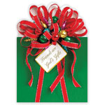 Christmas Cards - Friends are God's Gifts Christmas Card Set of 20