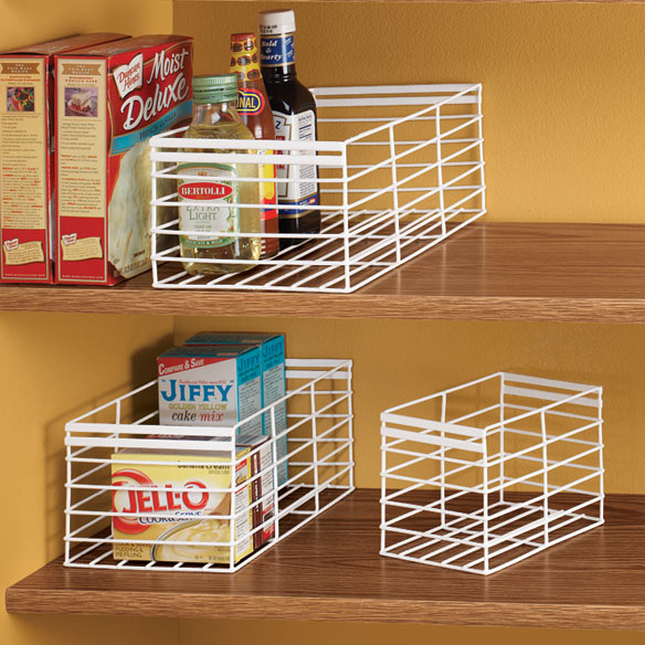Pantry Storage Caddy Set