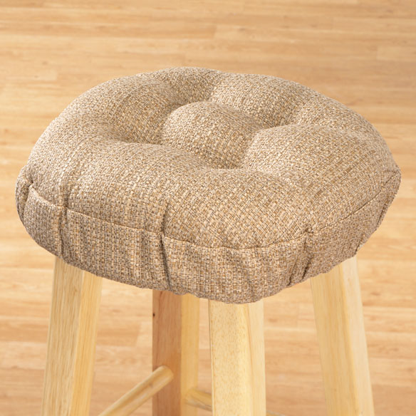 Accord Round Bar Stool Cushion - View 1