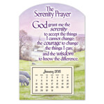 Calendars - Mini Serenity Prayer Magnet Calendar