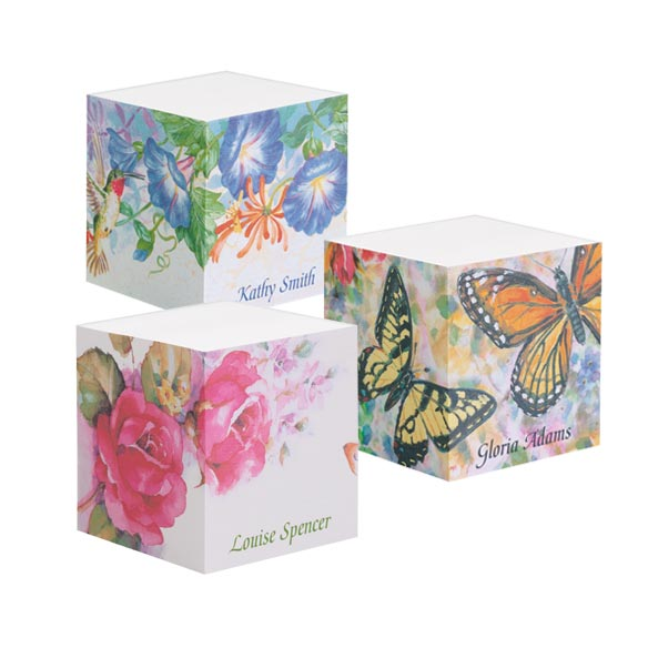 Designer Large Sticky Notecube