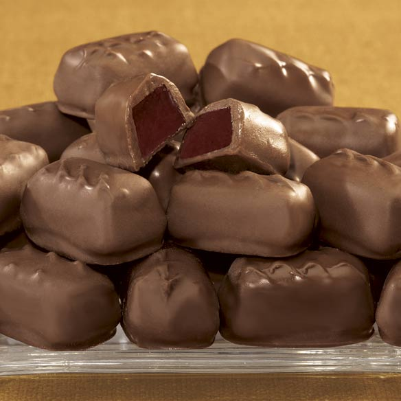 Sugar Free Milk Chocolate Raspberry Jellies - 12 oz.