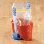 Thanksgiving Cooking Helpers - Hands Free Baggy Rack