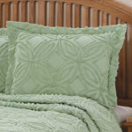White Sale - The Eliza Chenille Bedspread Sham by East Wing Comforts™
