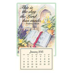 World Religion Day  - Psalm 118:24 Mini Magnetic Calendar