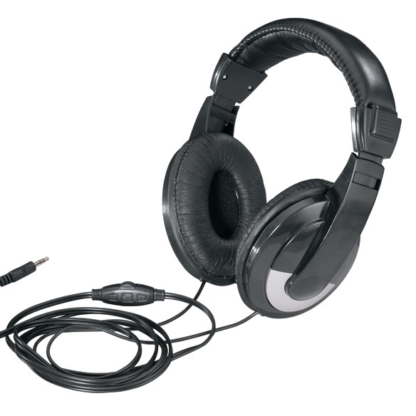 Adjustable Padded Headphones - View 1