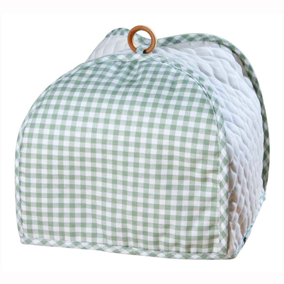 Gingham 4 Slice Toaster Cover