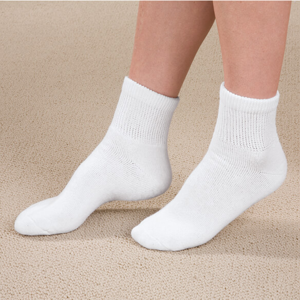 Diabetic Ankle Socks - 3 Pairs - View 1