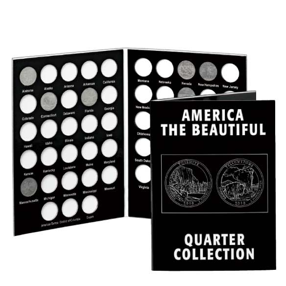 America The Beautiful Quarters Album - View 1
