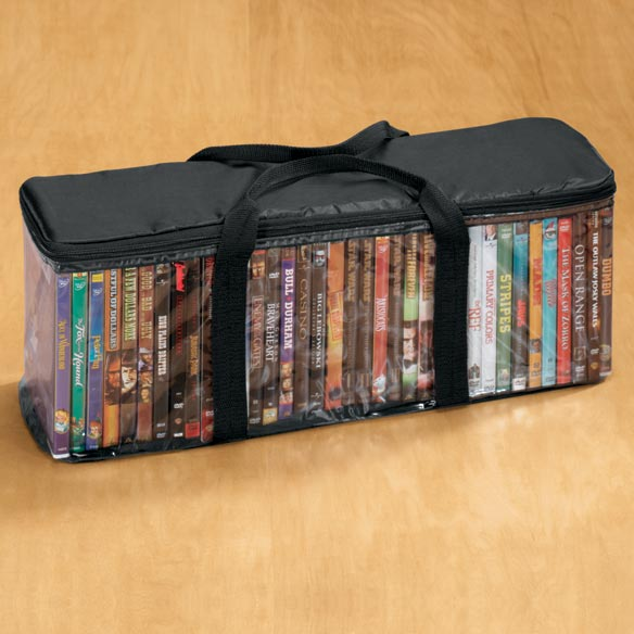 Dvd Travel Case Storage