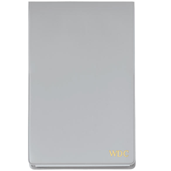 Grey Personalized Jotter Pad