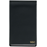 Black Personalized Jotter Pad