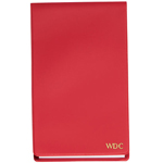 Personalized Gifts - Red Personalized Jotter Pad