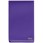 Purple Personalized Jotter Pad