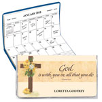 Labels & Stationery - Personalized Cross 2 Year Pocket Planner