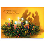 Christmas Cards - Personalized Reflections of Christmas Card Set of 20
