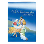 Holidays & Gifts Sale - Holy Night Christmas Card - Set of 20