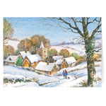 Holidays & Gifts Sale - Peaceful Village Christmas Card - Set of 20