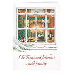 Christmas Cards - Personalized Treasured Friends Christmas Card Set of 20