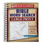 World Religion Day  - Large Print Bible Word Search