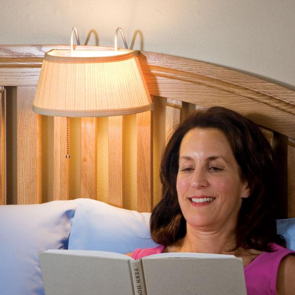 Headboard Light - Headboard Lamp - Over The Bed Light - Walter Drake