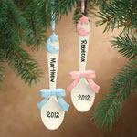 Holidays & Gifts - Baby Spoon Ornament