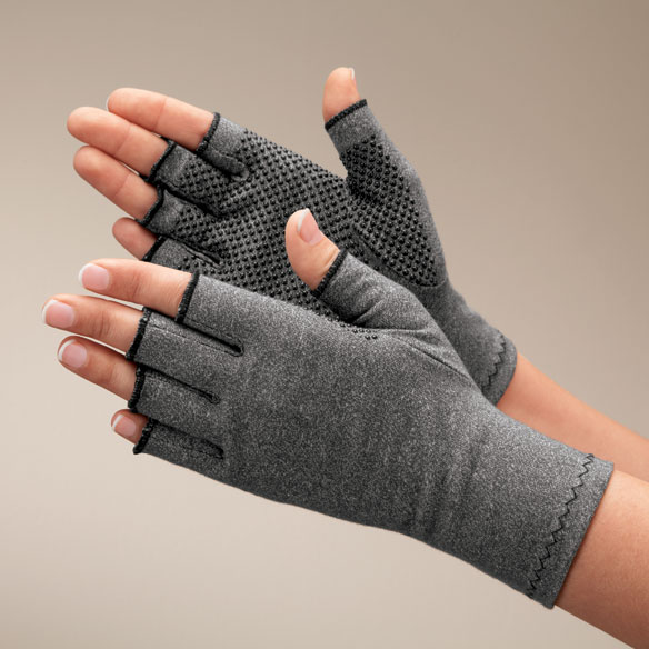 Light Compression Gloves With Grippers