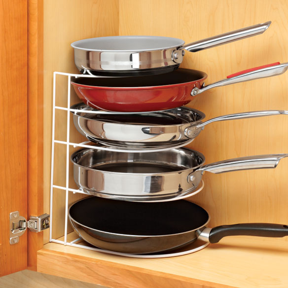 Frying Pan Organizer Cabinet Pan Organizer Kitchen