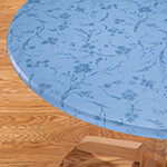 Table Top & Entertaining - Floral Swirl Elasticized Table Cover