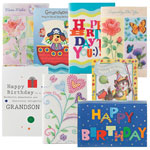 Memos, Notepads & Cards - Happy Birthday Cards For Kids - Pack Of 24