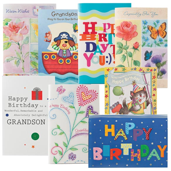 Happy Birthday Cards For Kids - Pack Of 24 - View 1